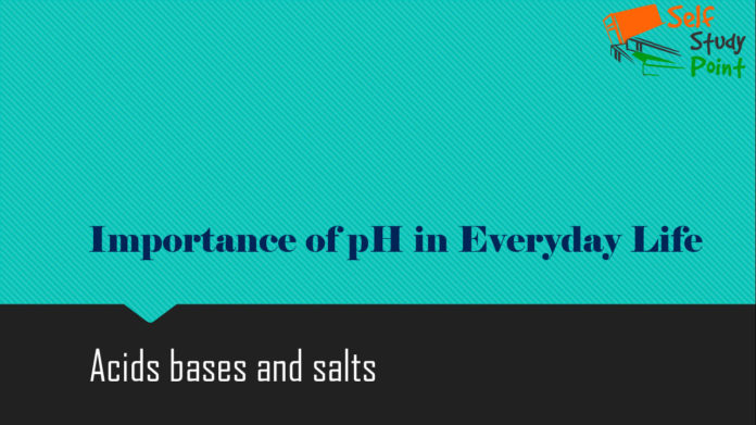 Importance of pH in Everyday Life