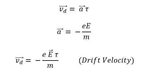 drift-velocity