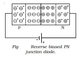 Reverse Biased PN junction Diode