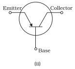 Symbols for p-n-p transistors