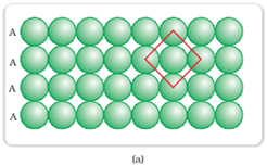 Square-closed packing in two dimensions