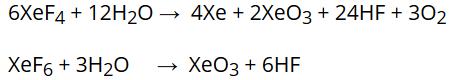 Xenon-oxygen compounds
