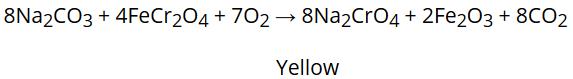 Preparation of Potassium dichromate