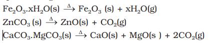calcination example