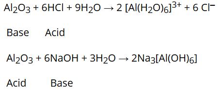 Amphoteric oxides