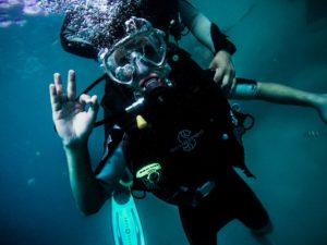 undersea welder