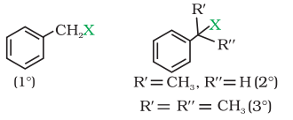 Benzylic halides