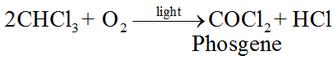 Properties of Trichloromethane