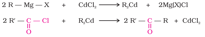 Preparation of Ketones From acyl chlorides