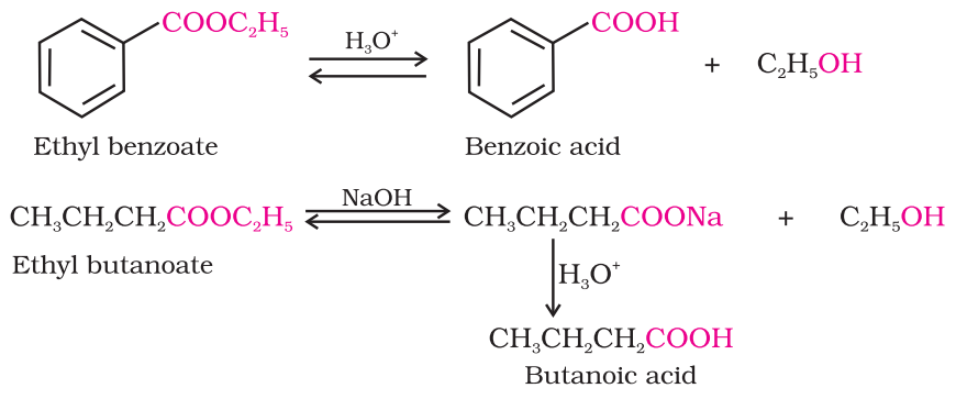 Preparation of Carboxylic Acids From esters