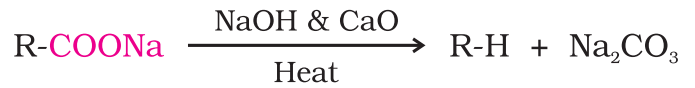 Reactions Involving -COOH Group