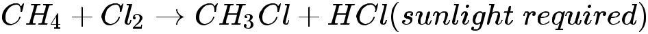 Addiction reaction of carbon compounds