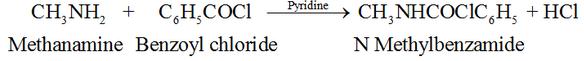 Benzoylation of Amine