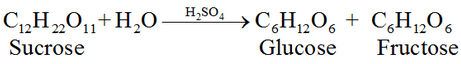 Preparation of Glucose From sucrose reaction
