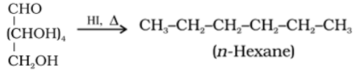 Glucose Reaction with HI