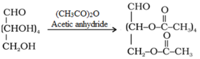 Glucose Acetylation reaction