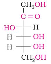 Fructose (Ketohexose)