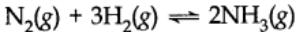 Equilibrium in Chemical Processes
