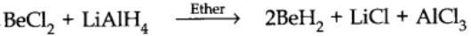 Reactivity towards hydrogen