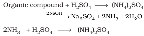 Kjeldahl's Methods