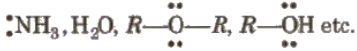 Nucleophiles or Nucleophilic Reagents