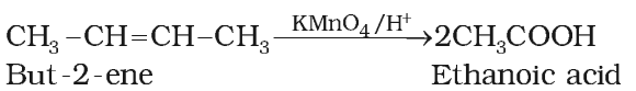 Oxidation of Alkenes