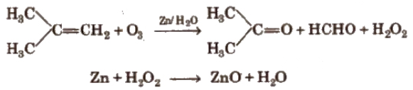 Ozonolysis of Alkenes