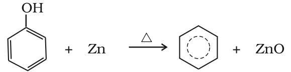 Preparation of Benzene